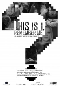 This Is I, Remember Me Poster Design (FINAL CHANGES 5)