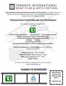 film workshop halifax